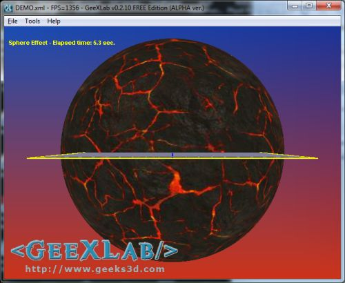 (Shader Library) Simple Sphere Effect in GLSL