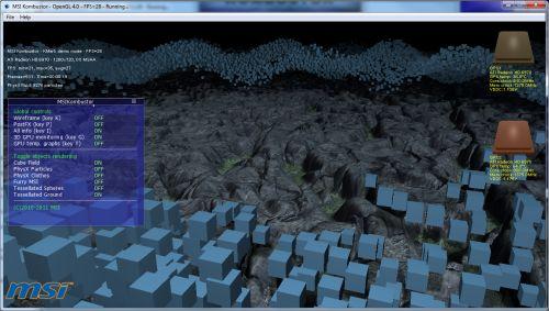 MSI Kombustor 2.0.0 Released With New OpenGL 4.0 Benchmark