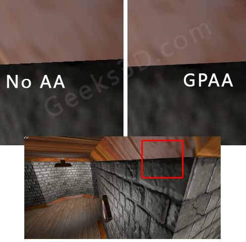 GPAA - Geometric Post-process Anti-Aliasing