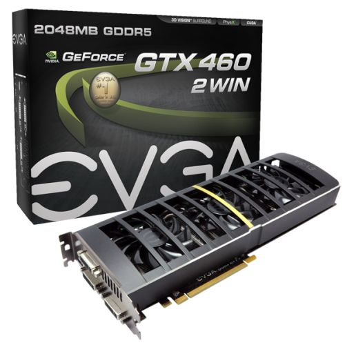 EVGA GTX 460 2Win