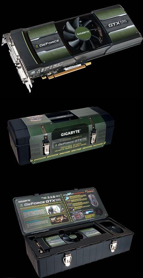 GIGABYTE GTX 590 specs