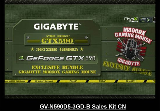 GIGABYTE GTX 590