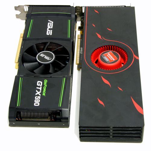 HD 6990 vs GTX 590