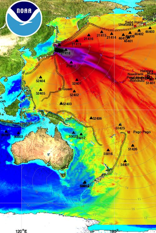 Japan earthquake: the planet is bleeding
