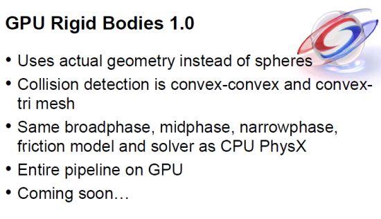 PhysX GRB 1.0