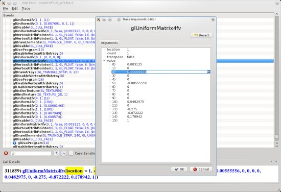 ApiTrace 1.0: OpenGL and Direct3D Debugger