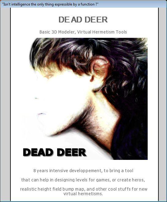 3D Dead Deer 2.1