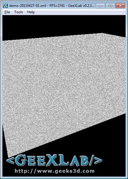 GLSL random function