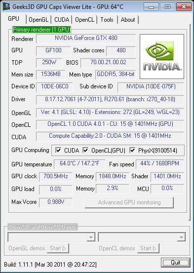 NVIDIA R27061 WHQL