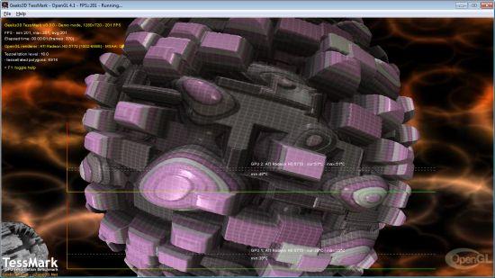 TessMark - OpenGL tessellation