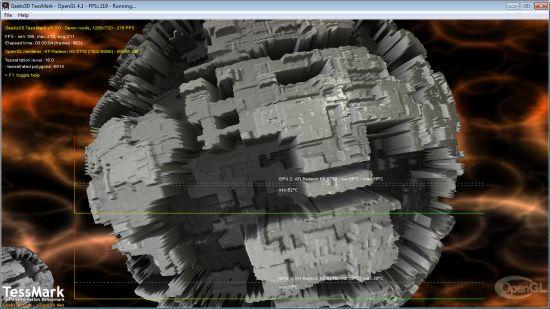 TessMark, OpenGL 4 tessellation benchmark