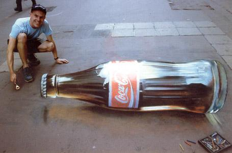 Anamorphic Painting: The Art of 3D Illusion