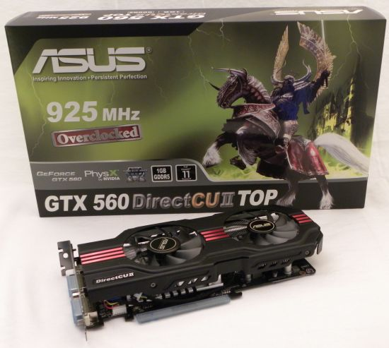 ASUS GeForce GTX 560