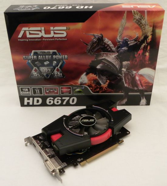 ASUS Radeon HD 6670
