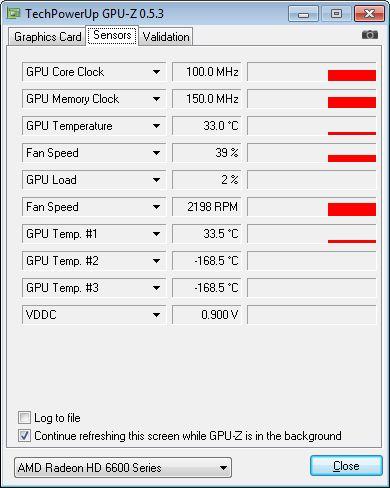 HD 6670 + GPU-Z