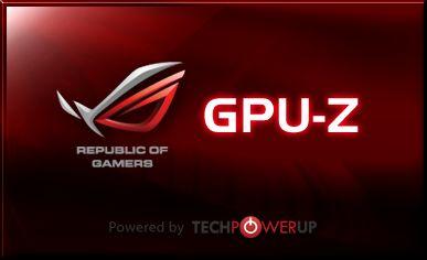 GPU-Z 0.5.3 ROG edition
