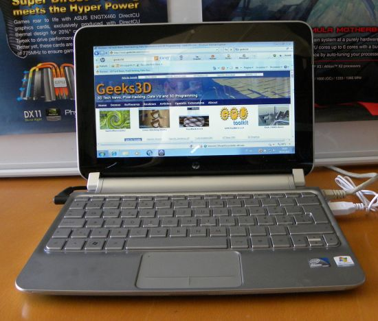 HP Mini 210-2100 Netbook