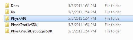 NVIDIA PhysX SDK 3.0