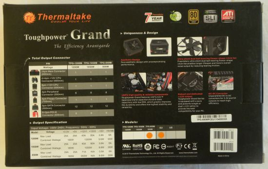 Thermaltake Toughpower Grand 850W PSU Review