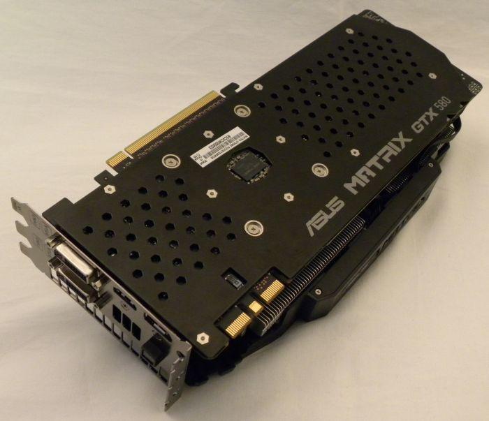 Обзор ASUS MATRIX GTX 580 Platinum