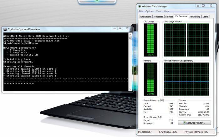 ASUS EeePC 1215B Netbook - AOGenMark