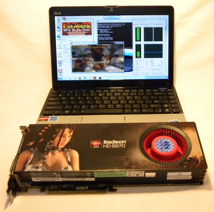 ASUS EeePC 1215B vs Radeon HD 6970