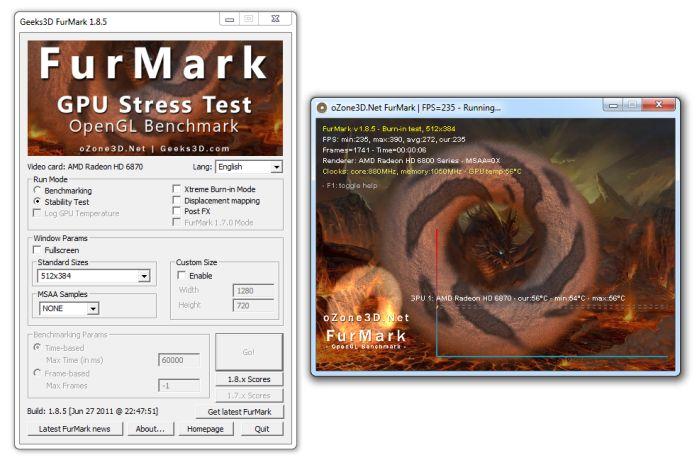 FurMark 1.8.5