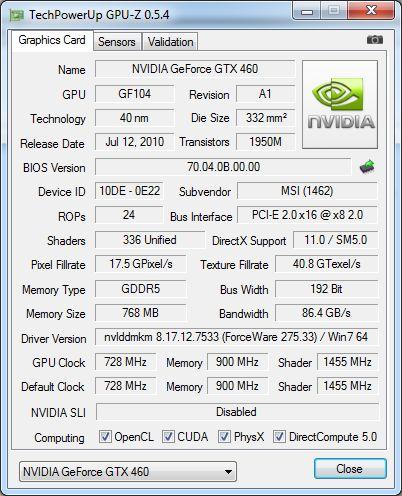 GPU-Z 0.5.4