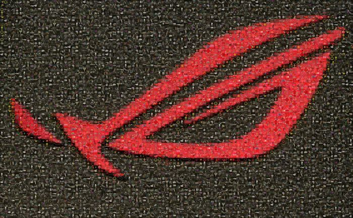 ASUS ROG Matrix GTX 580, mosaic wallpaper