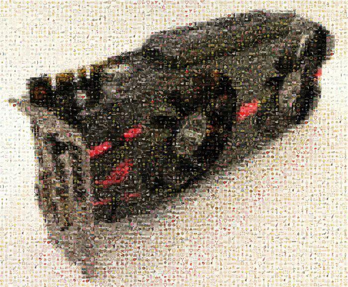 ASUS ROG Matrix GTX 580, mosaic wallpaper