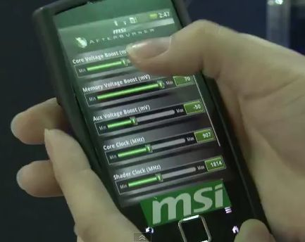 MSI Afterburner on Android phone