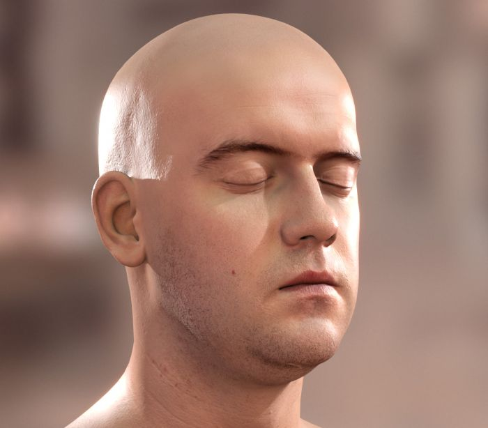Real-Time Skin Rendering - Screen-Space Subsurface Scattering (SSSSS)