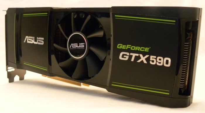 ASUS GeForce GTX 590 Dual-GPU Graphics Card