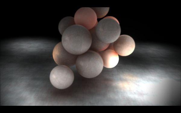 Displayhack - Making of:Spheres on a plane