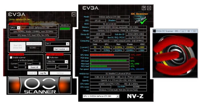 EVGA OC Scanner 1.7.2