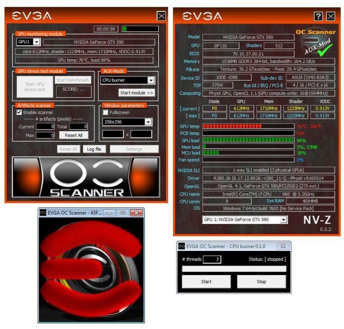 EVGA OC Scanner 1.7.3