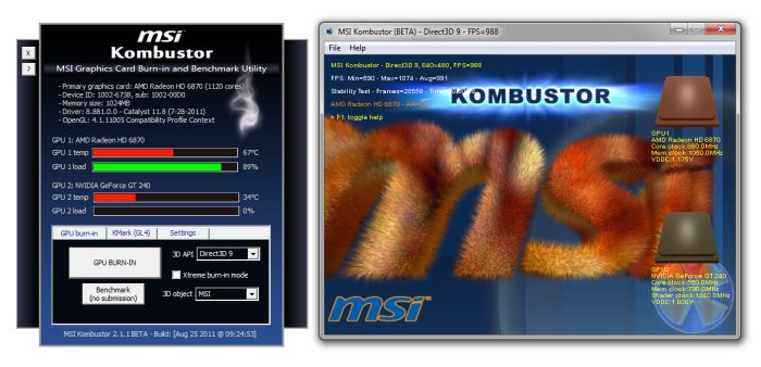 MSI Kombustor 2.1.1 (Beta)