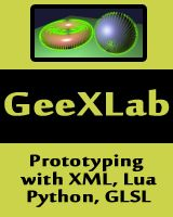 GeeXLab, demotool, prototyping in Lua, Python and GLSL