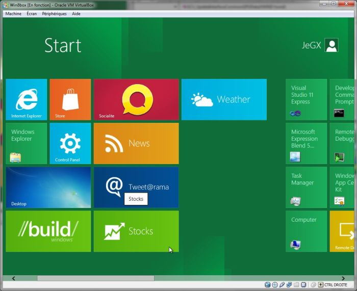 Windows 8 developer preview, MSI Kombustor, D3D9