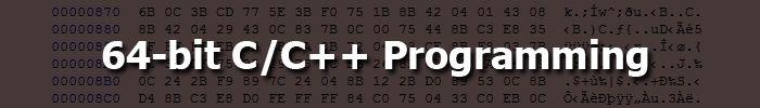64-bit C/C++ programming