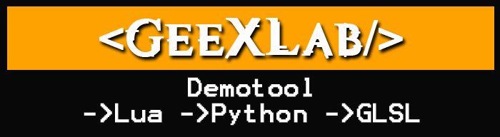 GeeXLab banner