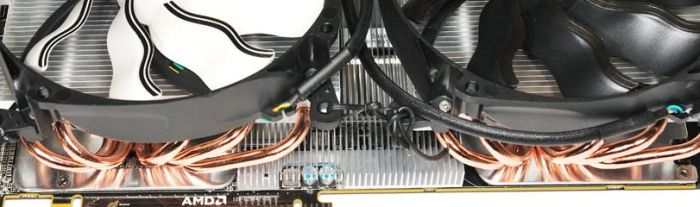 Radeon HD 6990, Arctic Accelero Twin Turbo 6990 cooler with Xigmatek fans