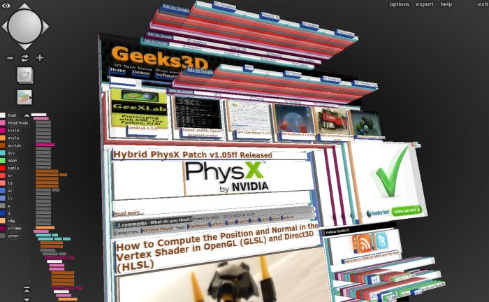 Geeks3D.com in 3D