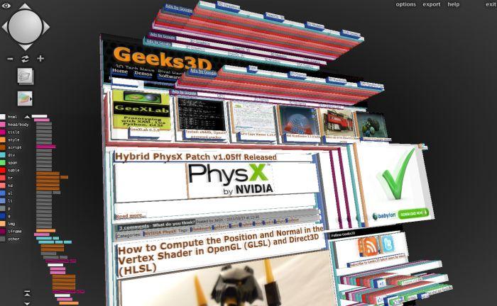Geeks3D.com in 3D