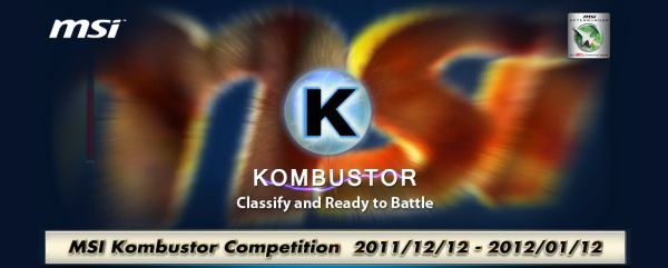 MSI Kombustor Competition