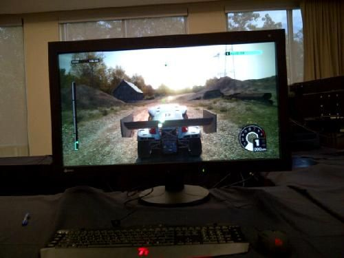 Eizo RadiForce RX840, DiRT 3