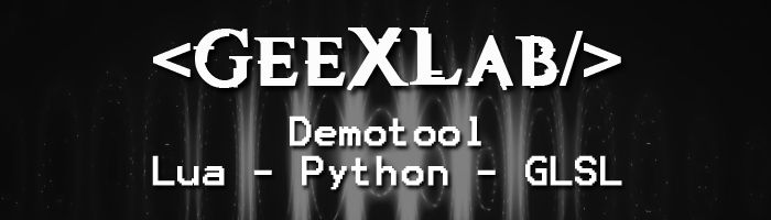 GeeXLab demotool