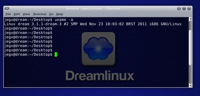 Dreamlinux, kernel information