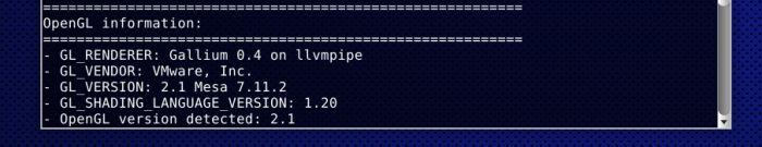 Gallium3D LLVMpipe Renderer: OpenGL Extensions