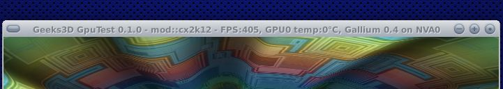 Gallium3D Nouveau NVA0 Renderer: OpenGL Extensions